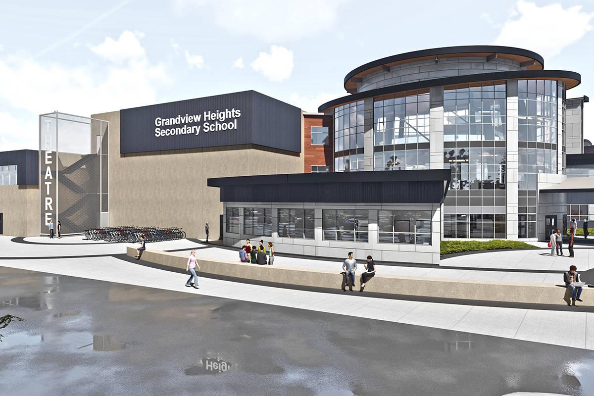 Grandview Heights Secondary Delayed  Surrey Nowleader inside Grandview School District Calendar