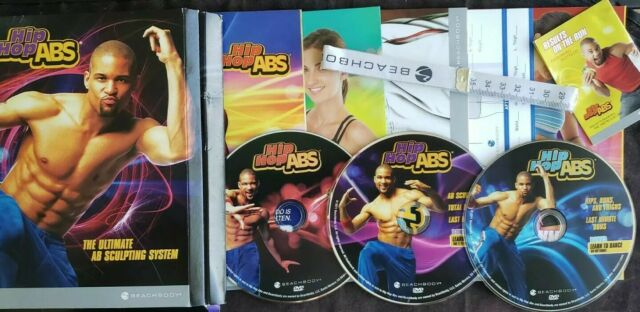 Hip Hop Abs The Ultimate Ab Sculpting System (3 Dvd Set for Hip Hop Abs Hips Buns And Thighs