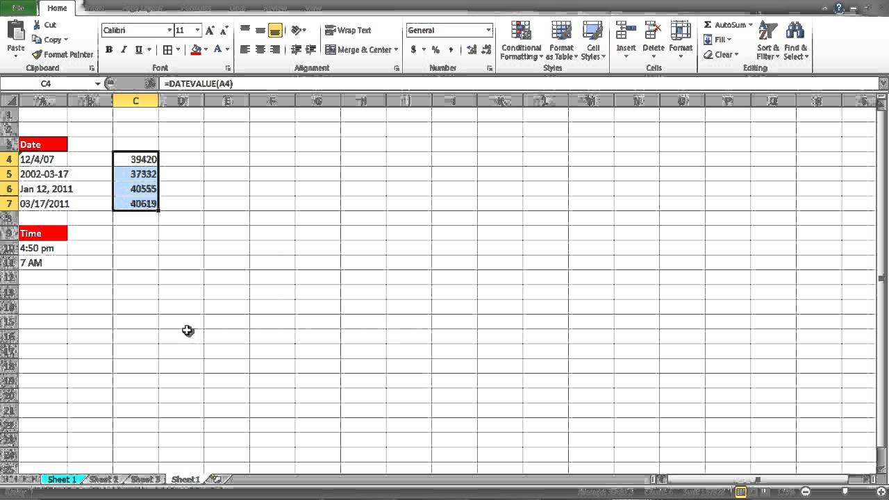 How To Convert To Date In Excel with regard to Convert From Julian Date To Calendar Date In Excel