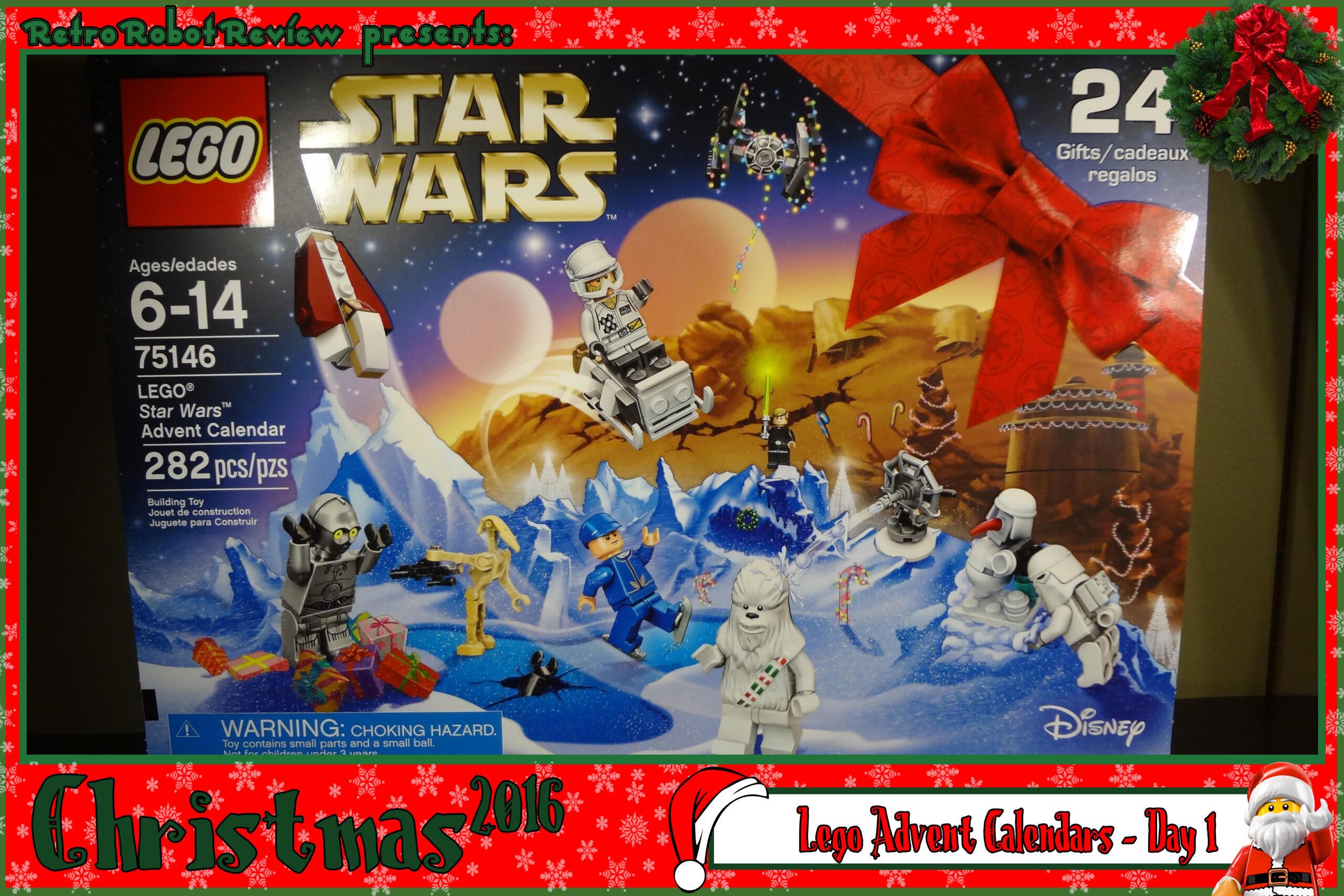 Lego Advent Calendars  Day 1 pertaining to Lego Star Wars Advent Calendar Instructions