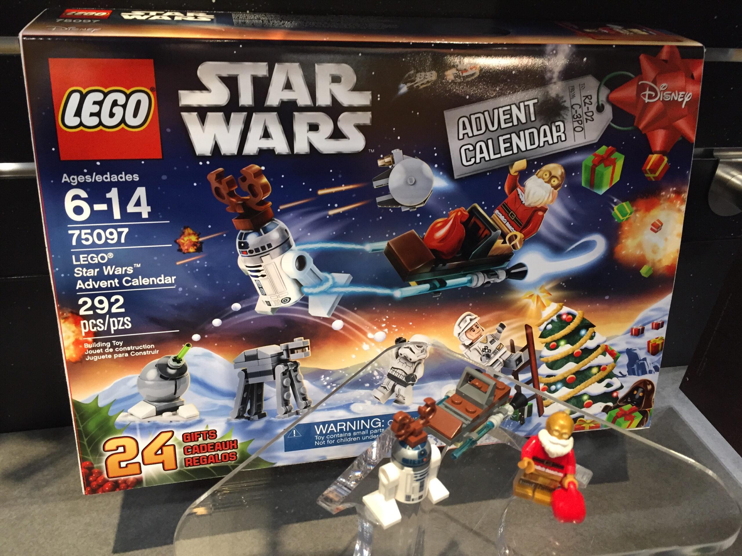 Lego Star Wars 2015 Advent Calendar Photos! Toy Fair 2015 in Lego Star Wars Advent Calendar Instructions