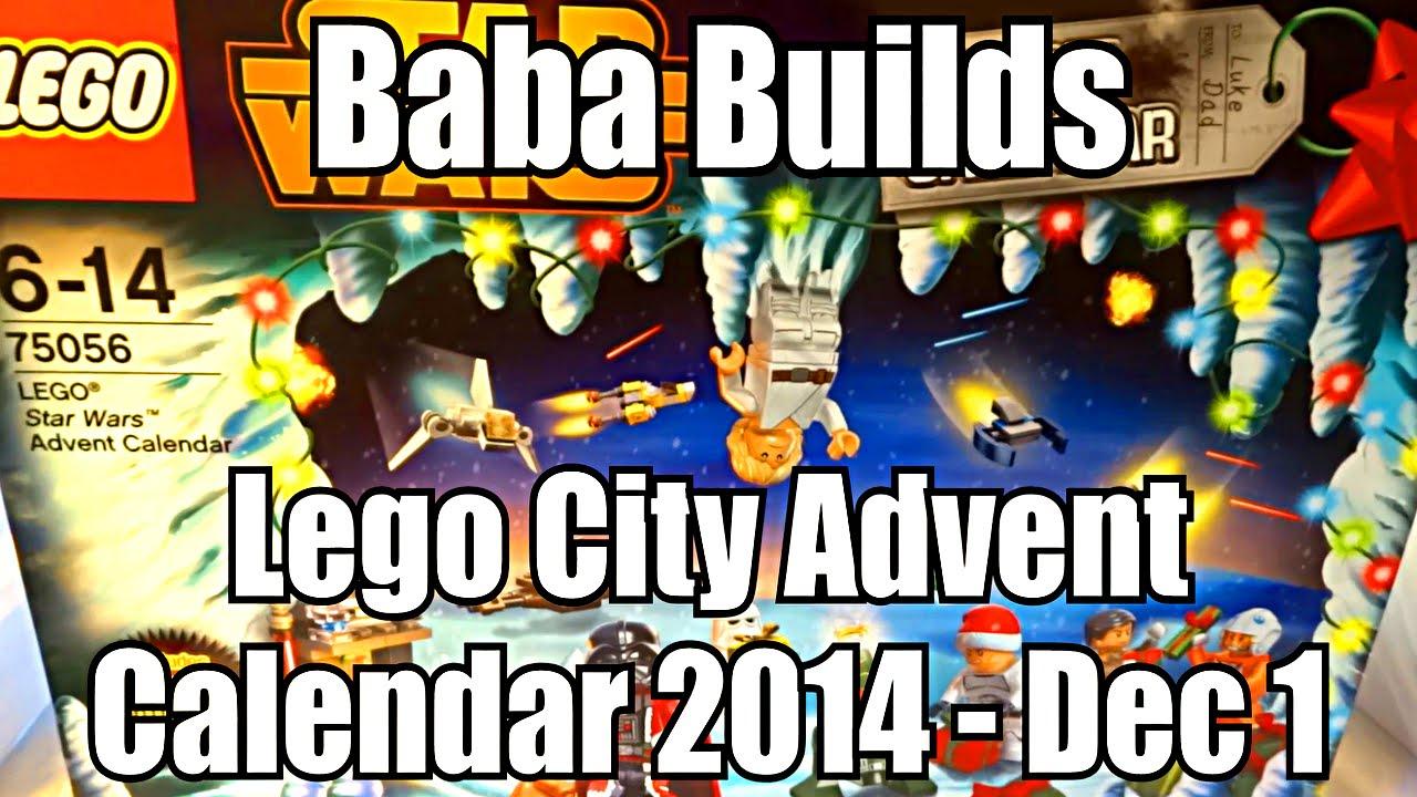 Lego Star Wars Advent Calendar 1 Dec 2014 (75056)  Youtube intended for Lego Star Wars Advent Calendar Instructions