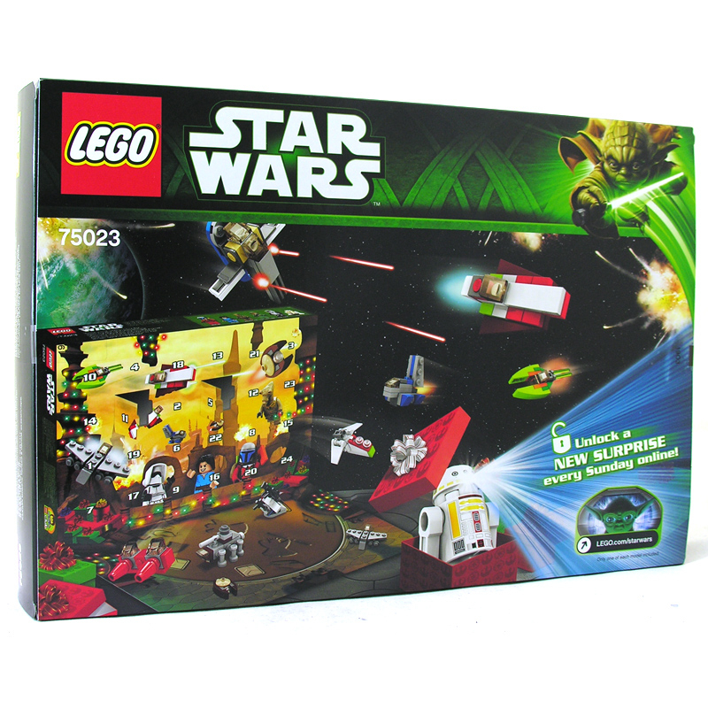 Lego Star Wars Advent Calendar 2013 75023 pertaining to Lego Star Wars Advent Calendar Instructions