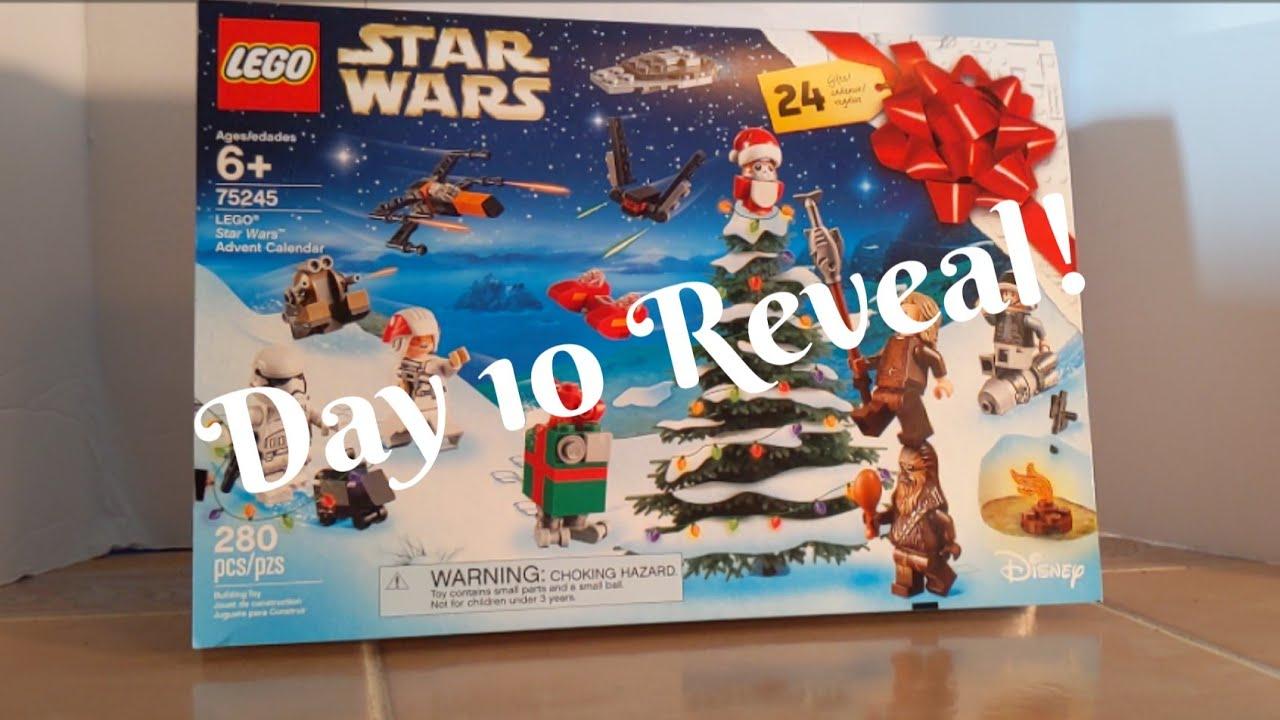Lego Star Wars Advent Calendar 2019  Day 10 Reveal!  Youtube in Lego Star Wars Advent Calendar Instructions