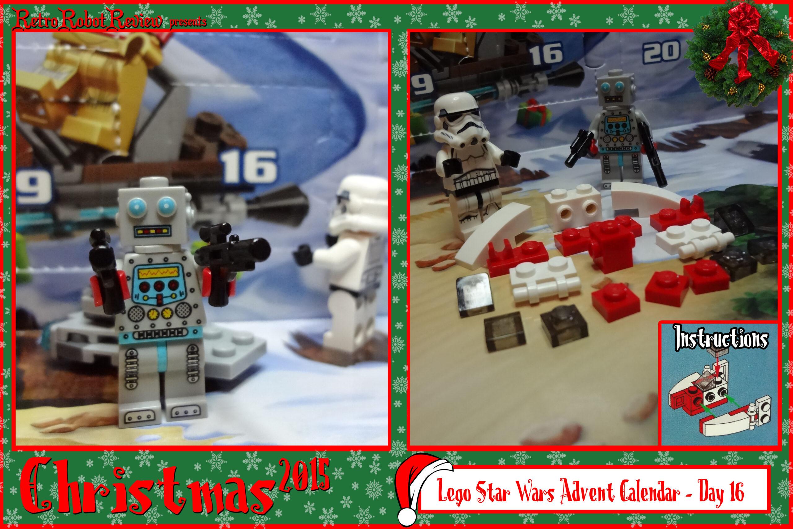 Lego Star Wars Advent Calendar  Day 16 regarding Lego Star Wars Advent Calendar Instructions