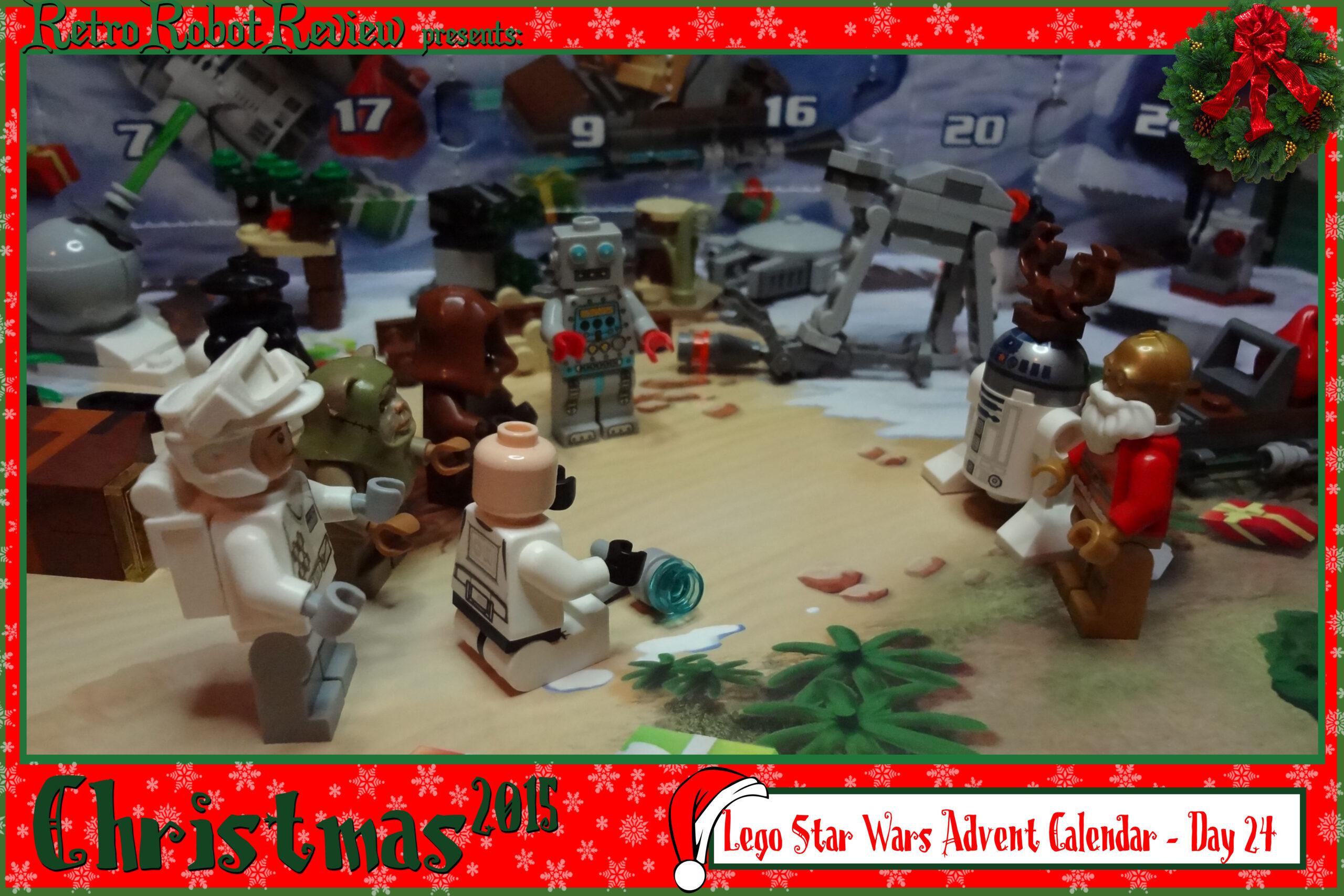 Lego Star Wars Advent Calendar  Day 24 throughout Lego Star Wars Advent Calendar Instructions