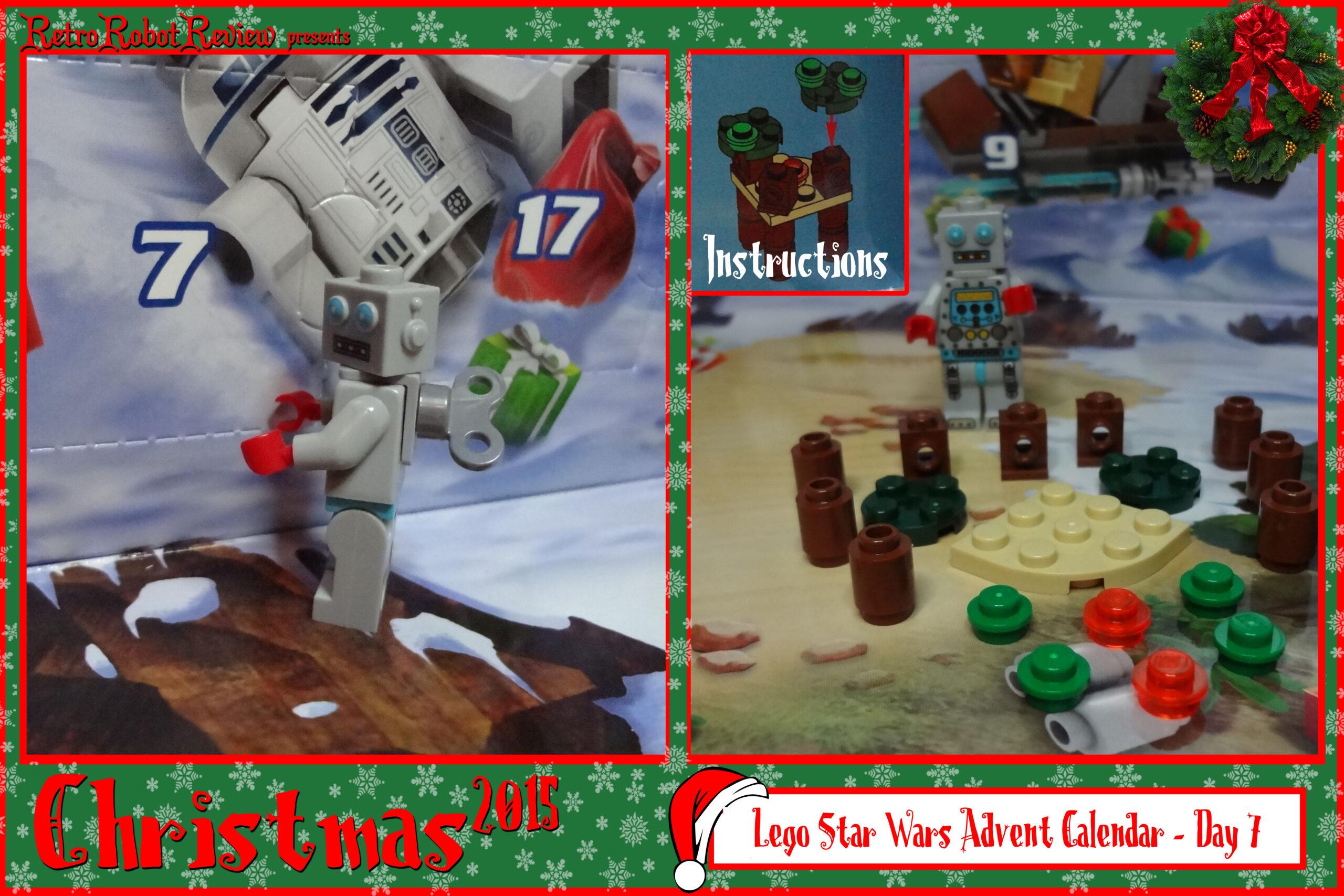Lego Star Wars Advent Calendar  Day 7 inside Lego Star Wars Advent Calendar Instructions