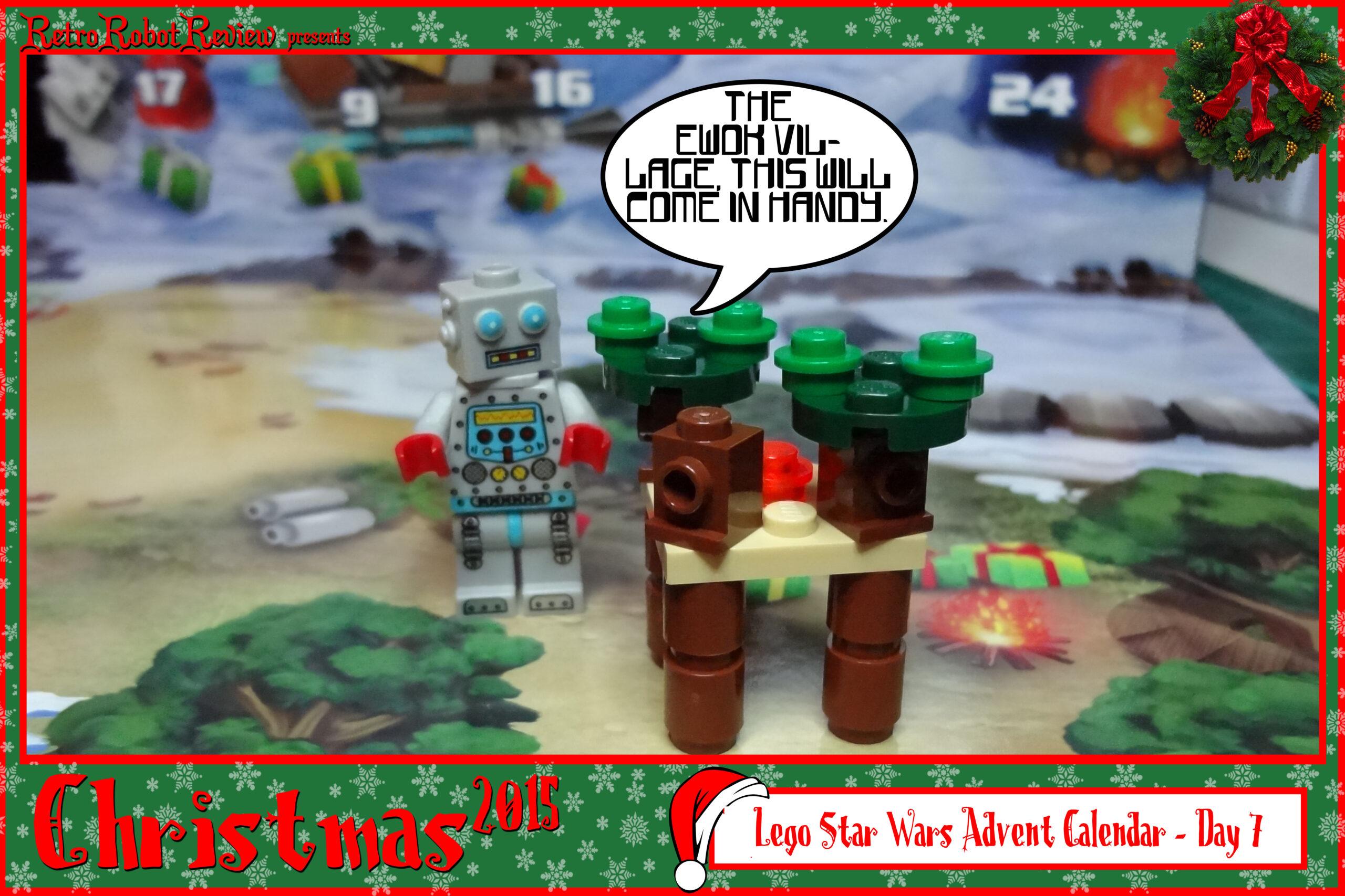 Lego Star Wars Advent Calendar  Day 7 within Lego Star Wars Advent Calendar Instructions