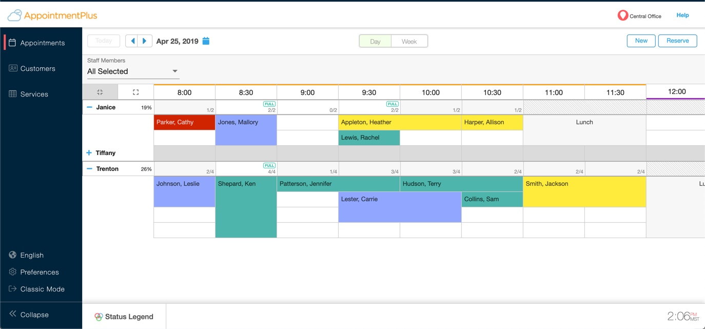 Managing Multiple Appointments Per Time Slot And The regarding Calendar With Times Slots