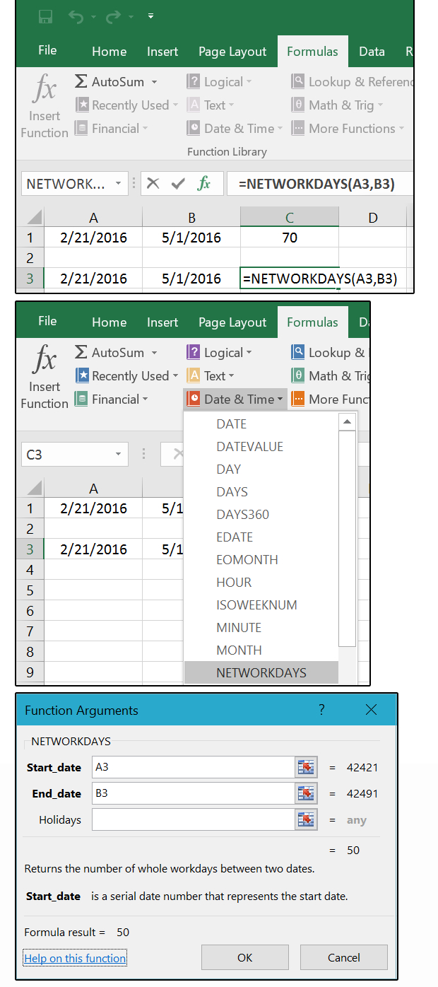 Mastering Excel Date & Time: Serial Numbers, Networkdays within Countdown Excluding Weekends