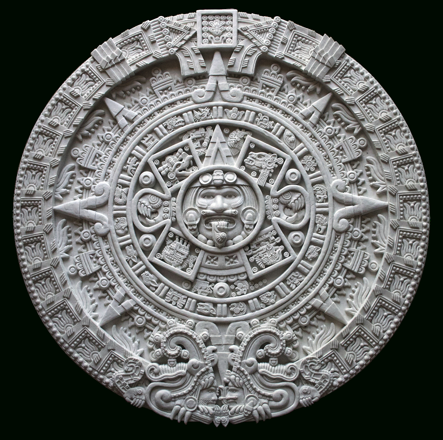 Mesoamerican Chronology  Wikipedia in Aztec Calendar Template
