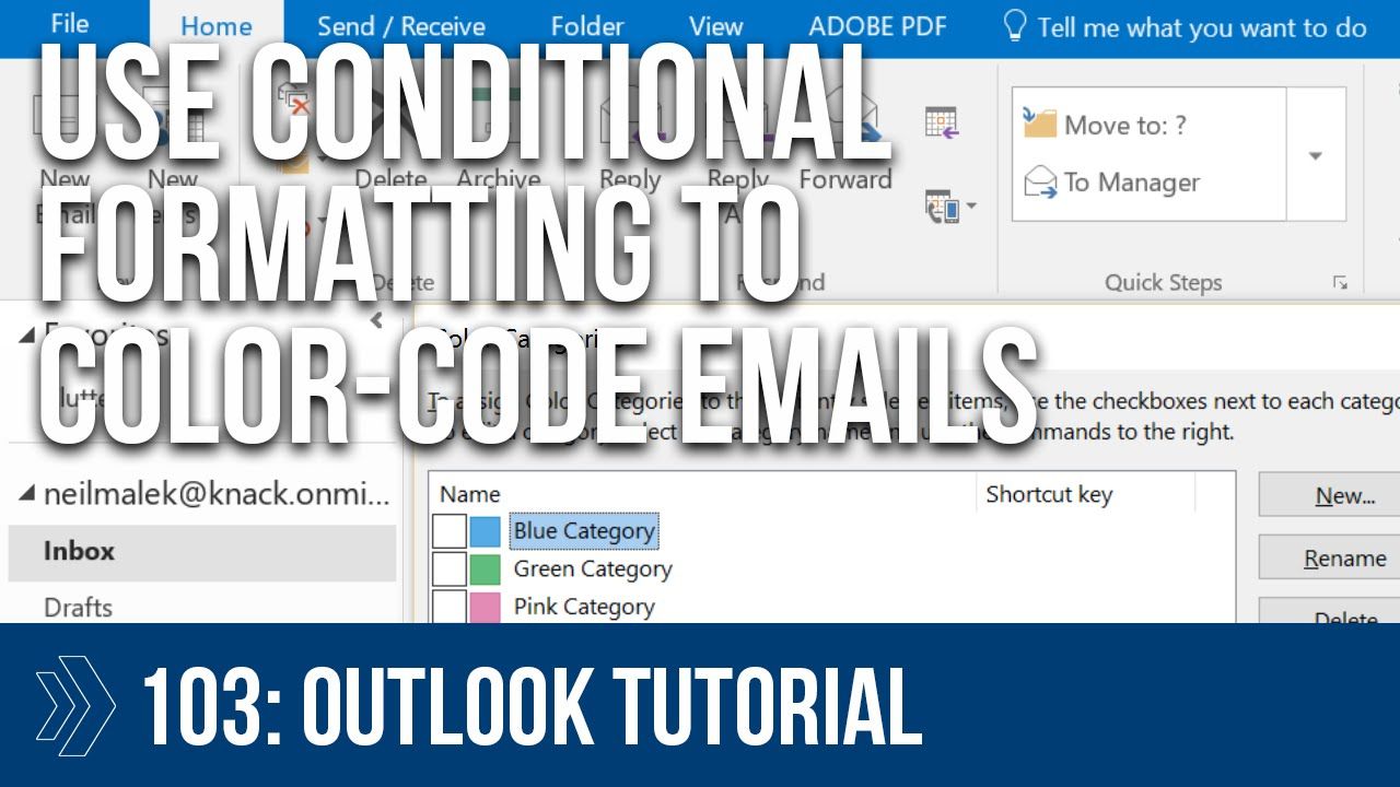 Microsoft Outlook Conditional Formatting Rules within Conditional Formatting Outlook Calendar