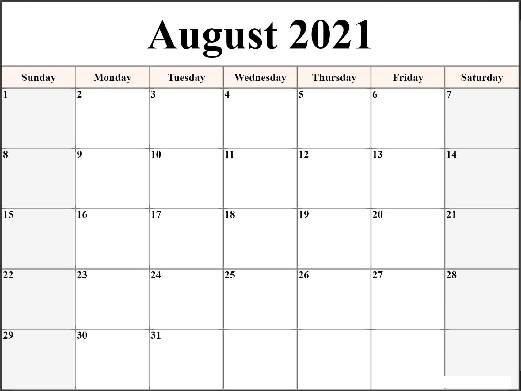 Microsoft Word Calendar Template 2021 Monthly | Free with regard to Microsoft Word Templates Calendar