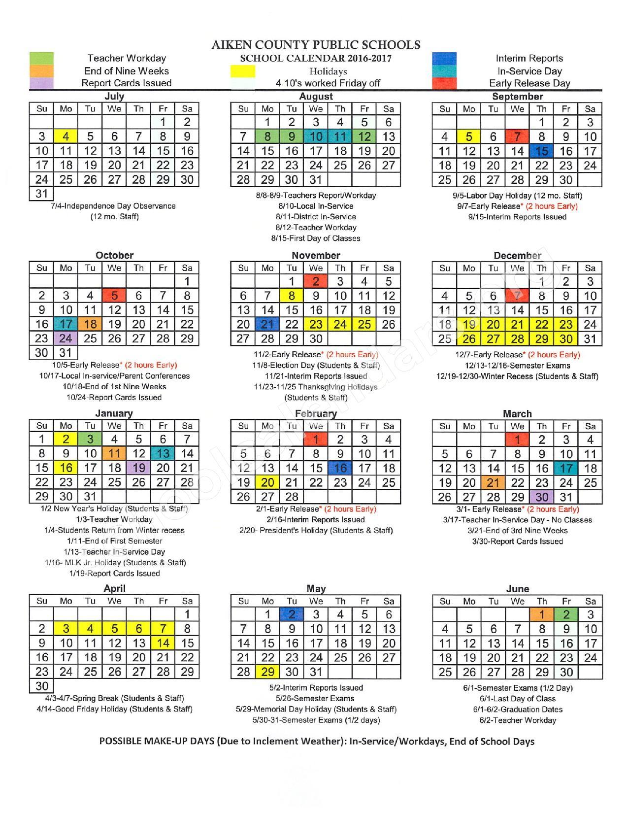 North Augusta High School Calendars – North Augusta, Sc throughout Augusta County School Calendar