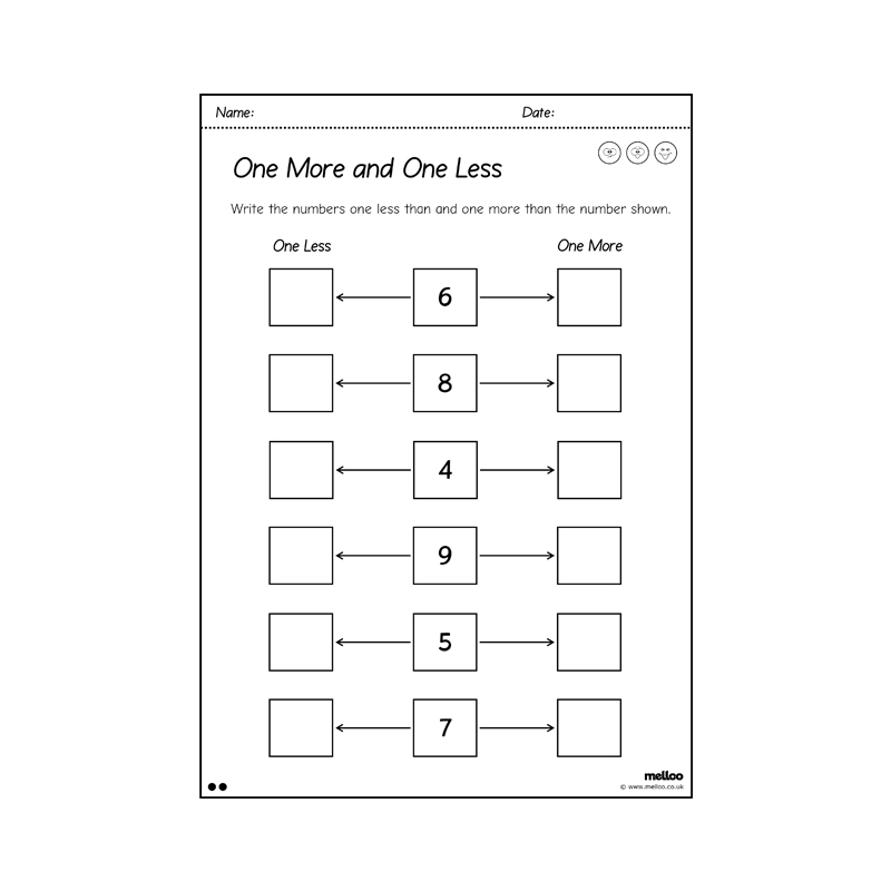One More And One Less To 10 | Worksheets | Year 1 | Maths regarding Hebrew Calendar Worksheets And How To Make One