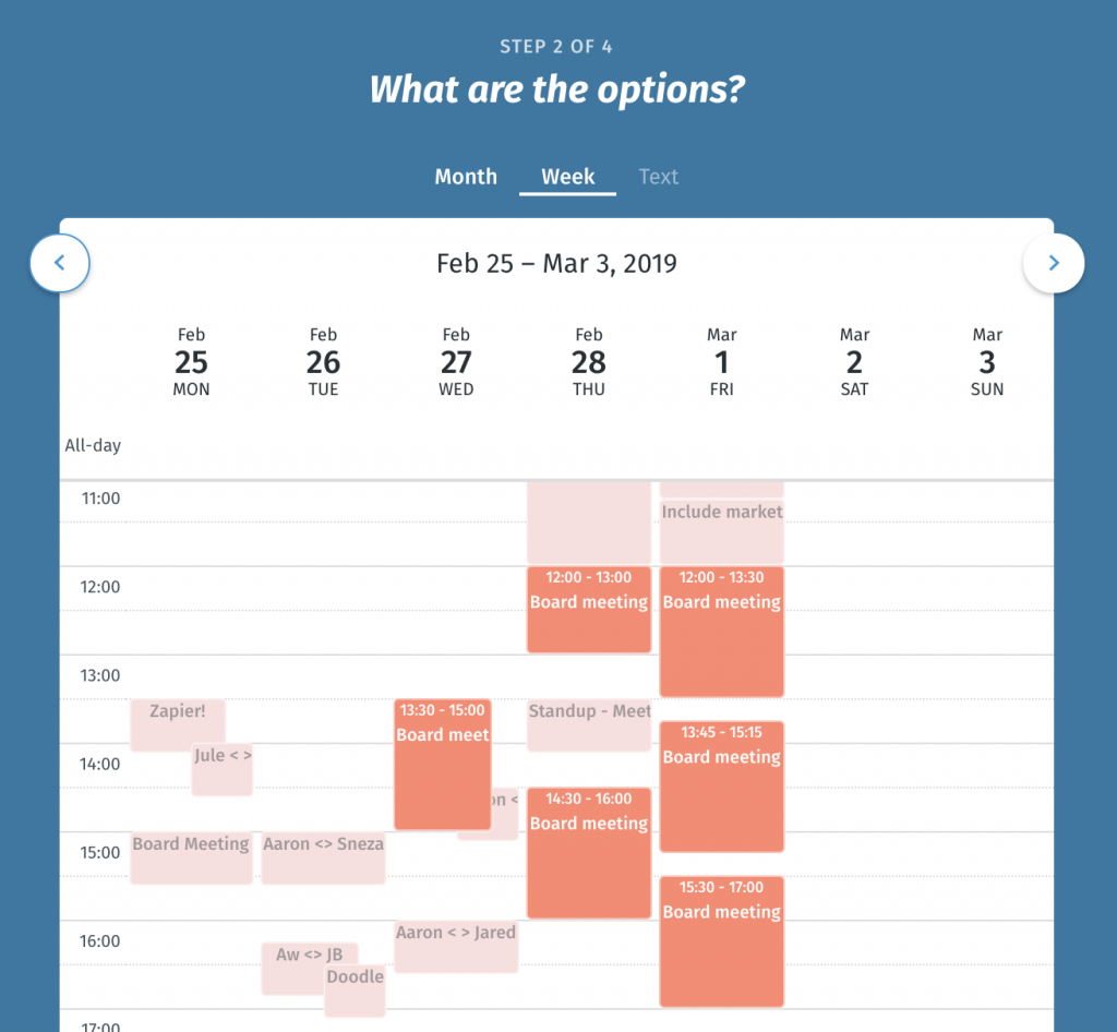 Online Polling Tool  Fast And Easy Scheduling | Doodle for 15 Minute Time Slots Google Calendar