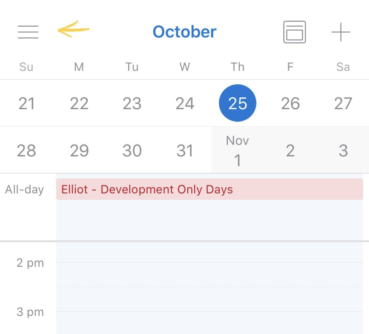 Open A Shared Calendar In Outlook For Ios  Gcits with Sharing Metadata Xml Outlook Calendar