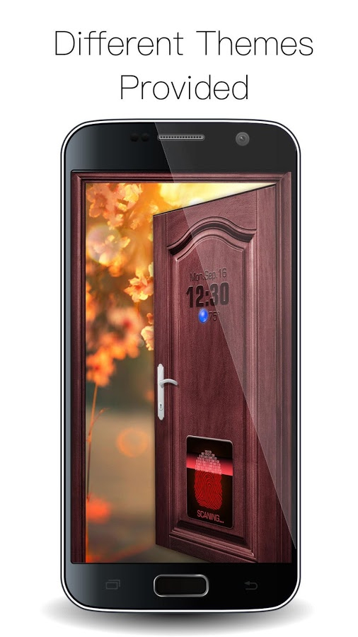 Opendoor Fingerprint Lock Screen For Prank For Android throughout Lock Screen Countdown Android