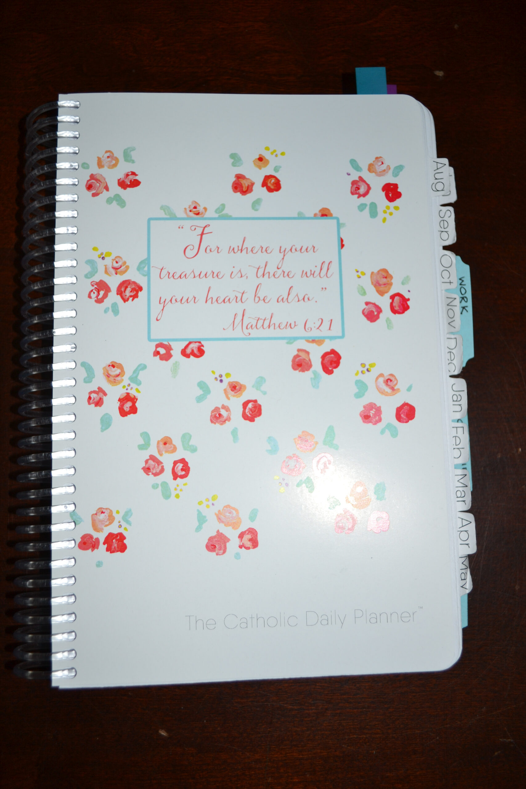 Planner | Franciscanmom with regard to Catholic Daily Planner