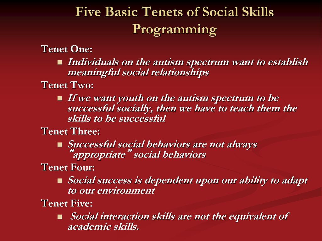 Scott Bellini, Ph.d., Hspp Director Social Skills Research within Autism Social Skills Profile Scoring