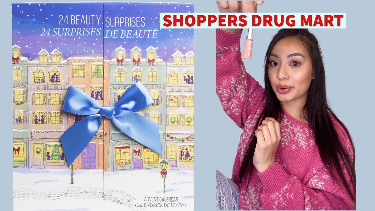 Shoppers Drug Mart Advent Calendar 2020 Part 1 Unboxing pertaining to Shoppers Photo Calendar
