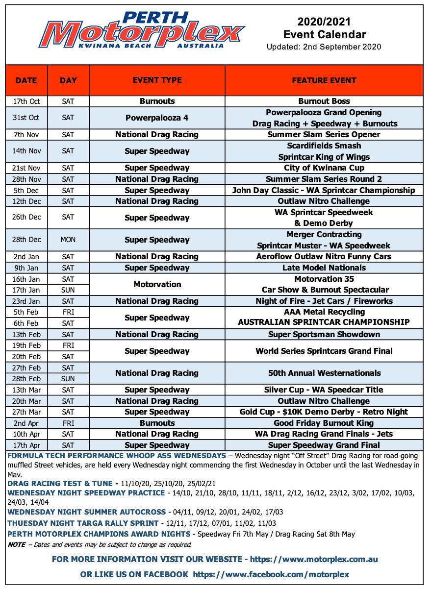 Slamfest Series | Zappia Racing in Benaraby Raceway Calendar