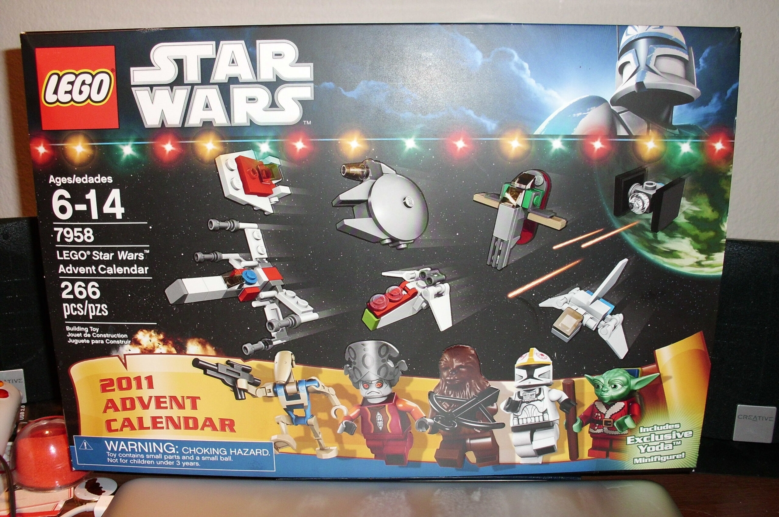 Star Wars Lego Advent Calendar, Day 1  Spencer Ex San Diego for Lego Star Wars Advent Calendar Instructions