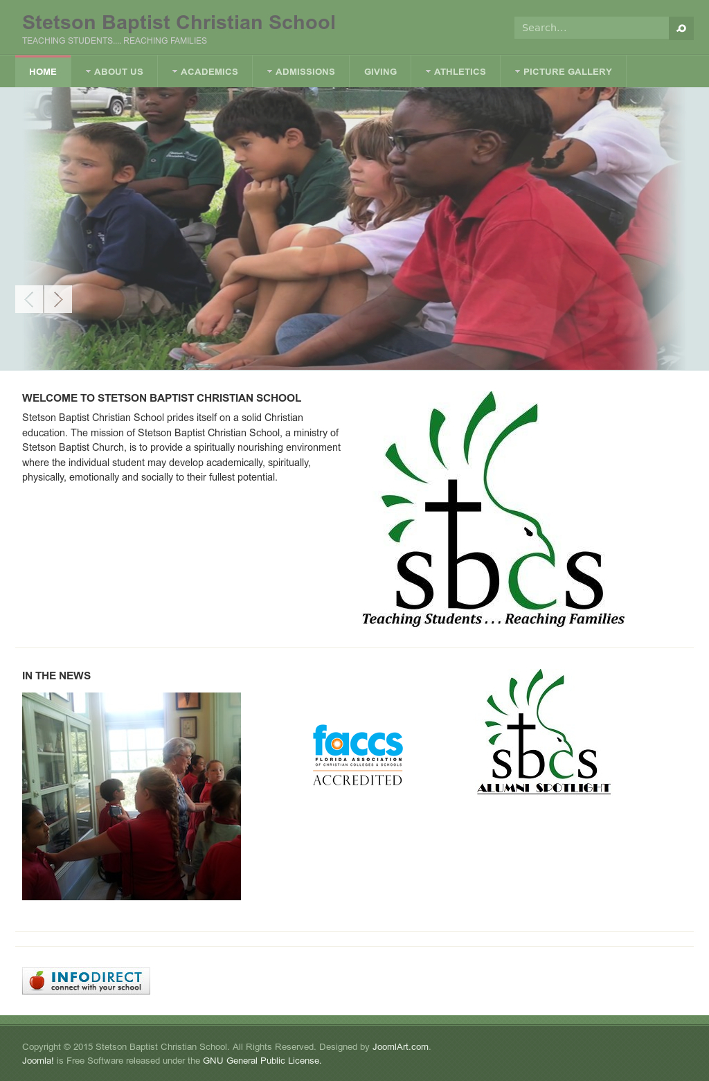 Stetson Baptist Christian School'S Competitors, Revenue pertaining to Stetson Baptist Christian School Calendar