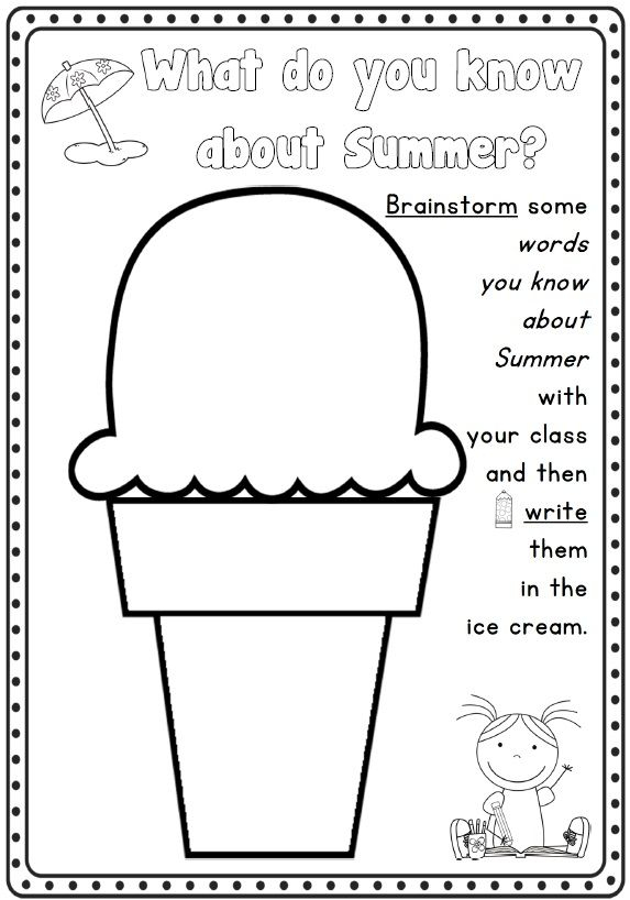 Summer Writing | Summer Writing, Writing Worksheets with Hebrew Calendar Worksheets And How To Make One