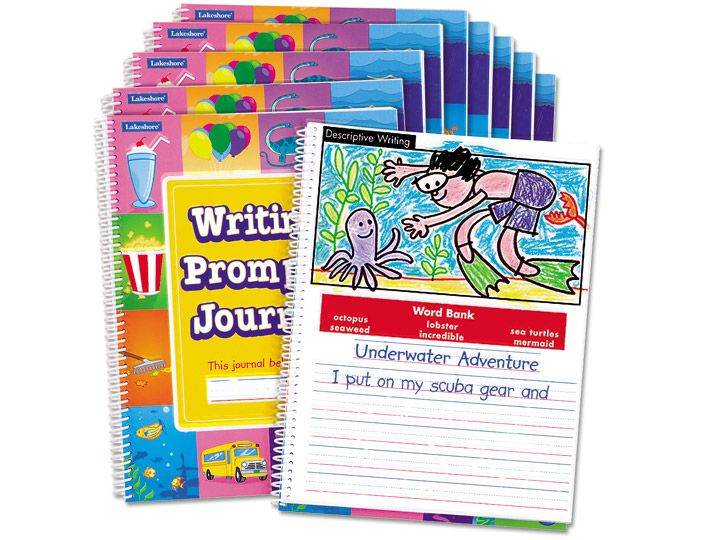 Writing Prompts Journal  Gr. 12  Each | Writing Prompts for Lakeshore Learning Writing Prompts