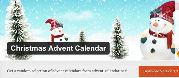 10 Excelentes Plugins De WordPress Para Navidad in Xmas Advent Calendar WordPress Plugin