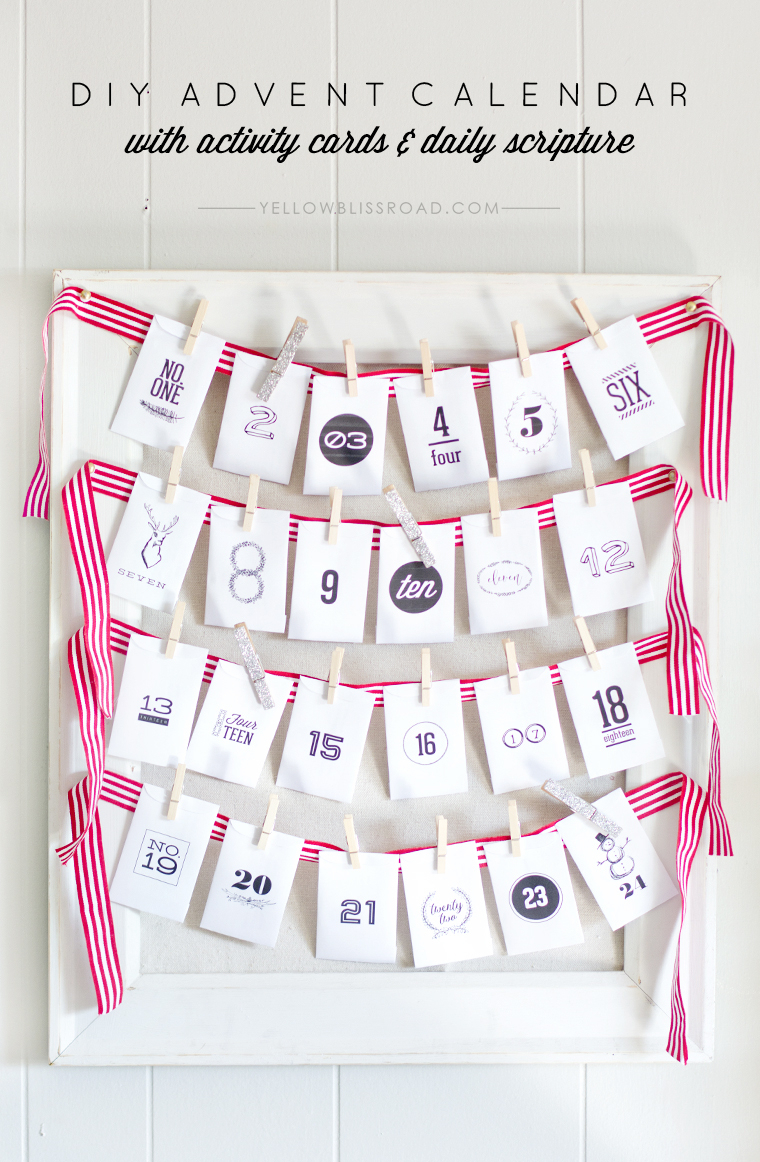 10 Free Advent Printables With Scripture  The Merry within Xmas Advent Calendar WordPress Plugin