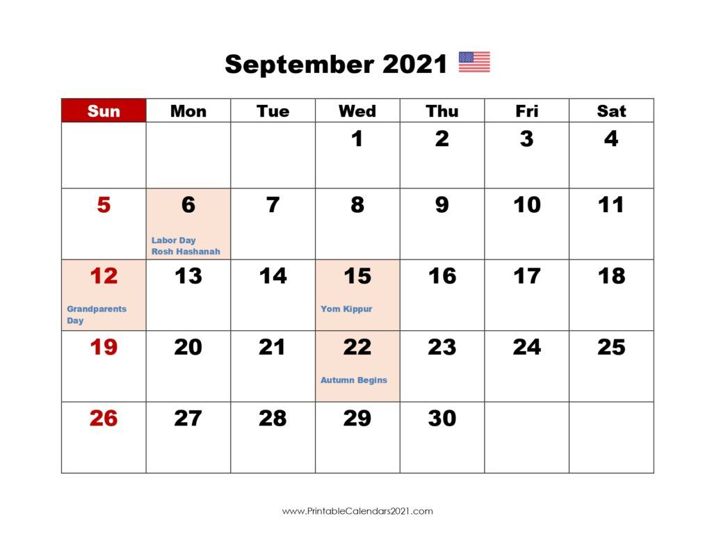 20+ Calendar 2021 September  Free Download Printable pertaining to 3 Month Printable Calendar Templates 2021 Sept