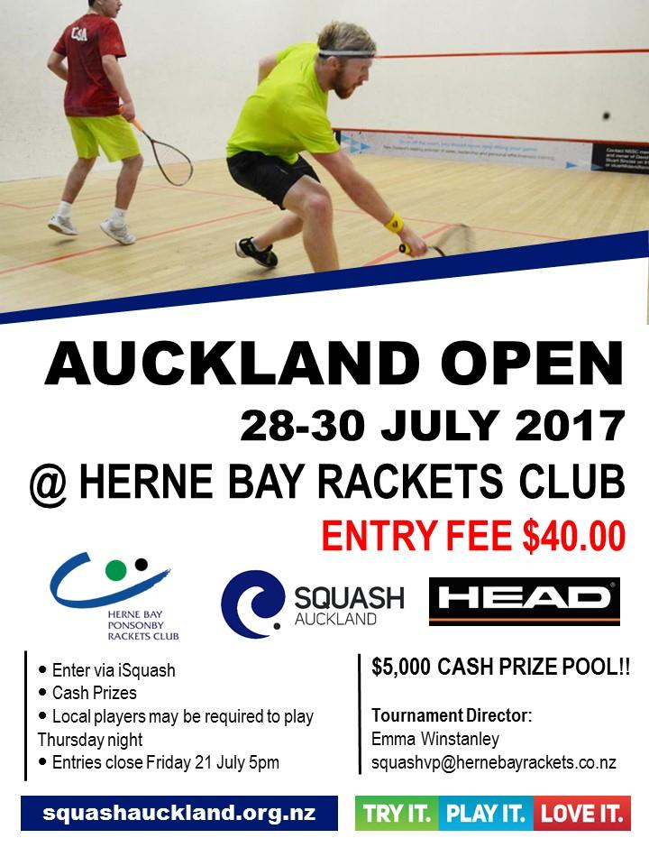 2017 Auckland Open @ Herne Bay inside Wo Mitchell School Calendar