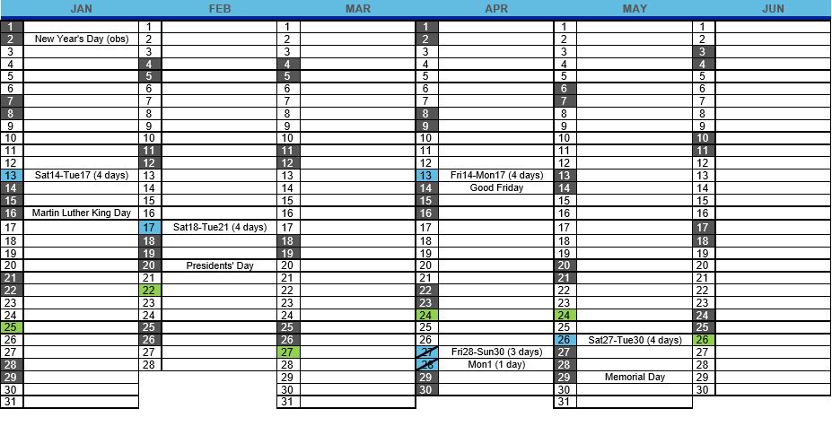 2017 Event Calendar Excel Template  Microsoft Project with regard to Yearly Event Calendar Template Excel