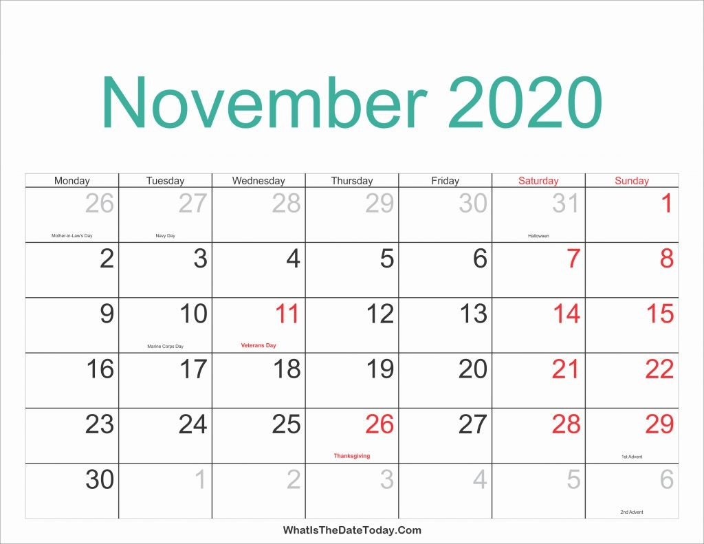20202020 Lectionary Calendar United Methodist  Template within Malayalam Calendar 2021 November