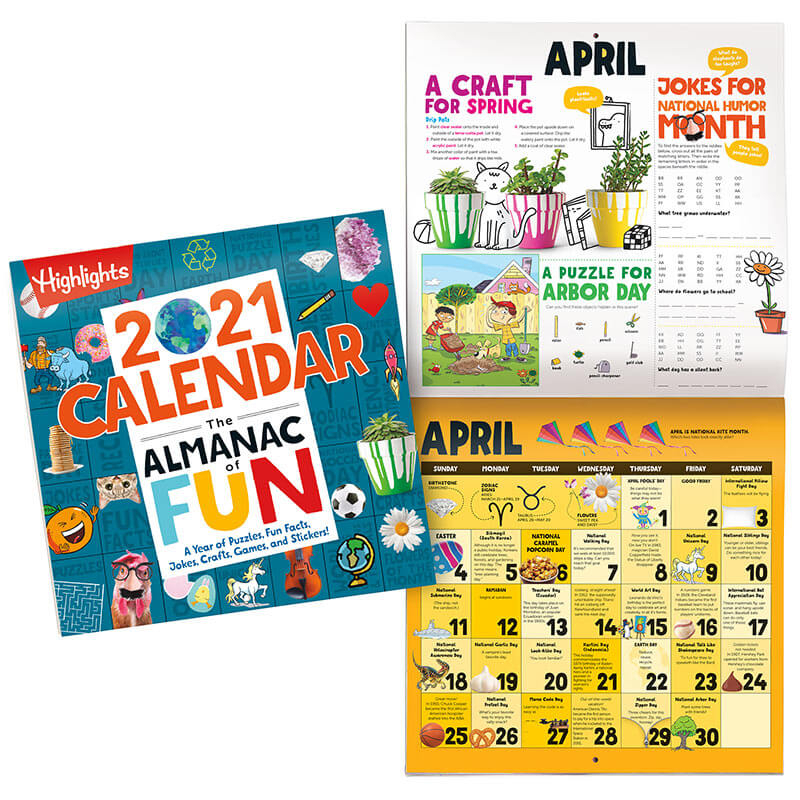 2021 Almanac Of Fun Set + Puzzle Fun   Highlights For Children throughout Empires And Puzzles Events Calendar 2021