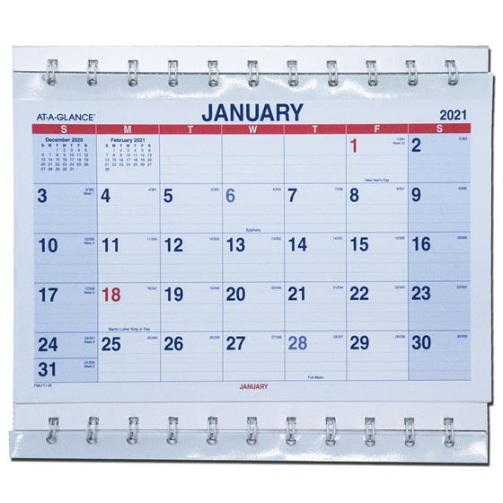 2021 Ataglance Pmlf1128 Moveapage 3Month Wall in Printable 3 Months At A Time Calendar 2021