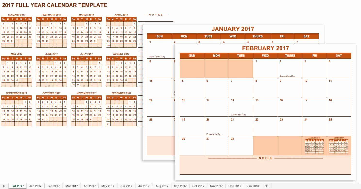 25 Google Calendar Template 2017 In 2020 | Calendar for Google Excel Calendar Template