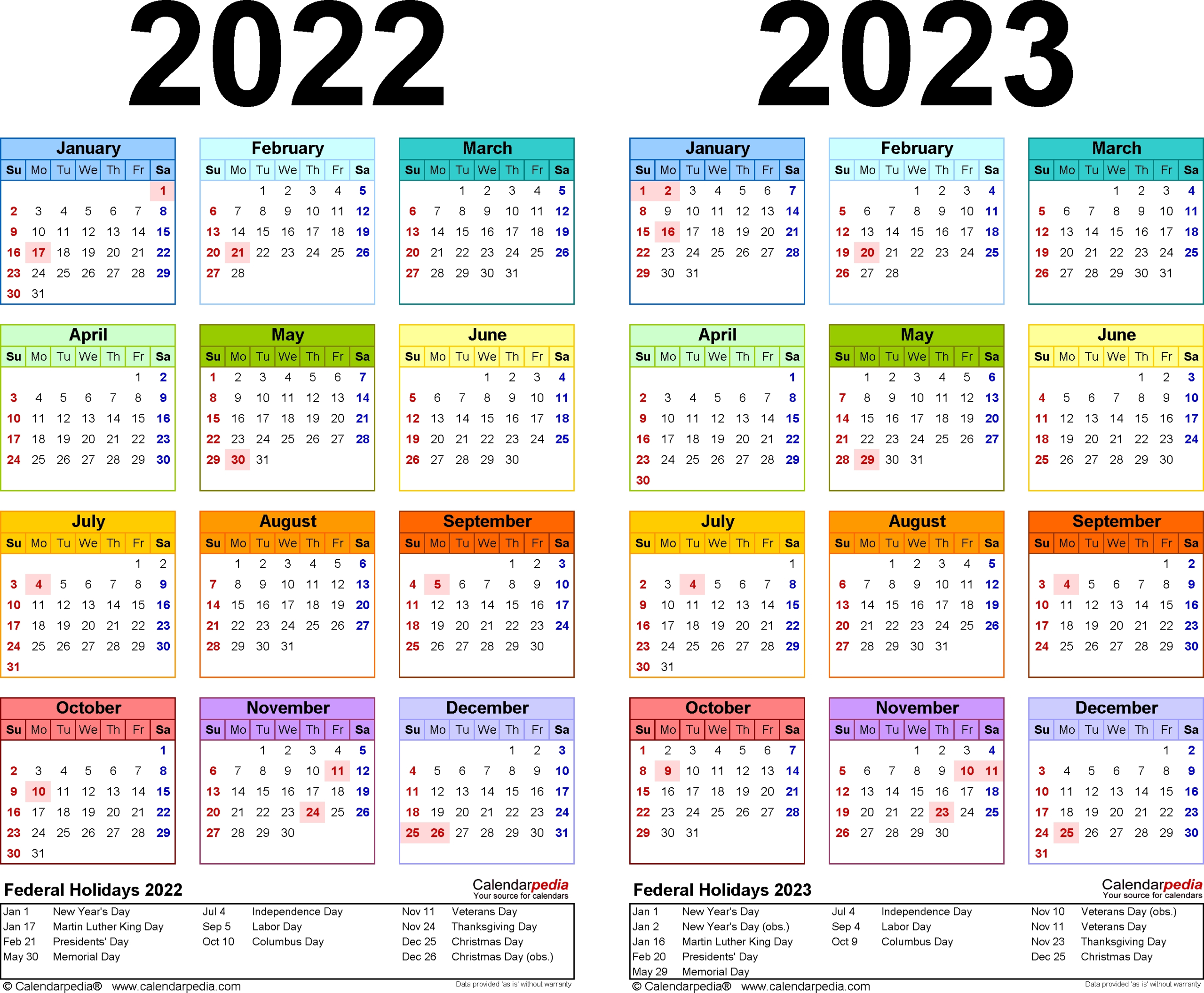 3 Year Calendar 2021 To 2023 | Month Calendar Printable intended for 2021 3 Month Monthly Printable Calendars