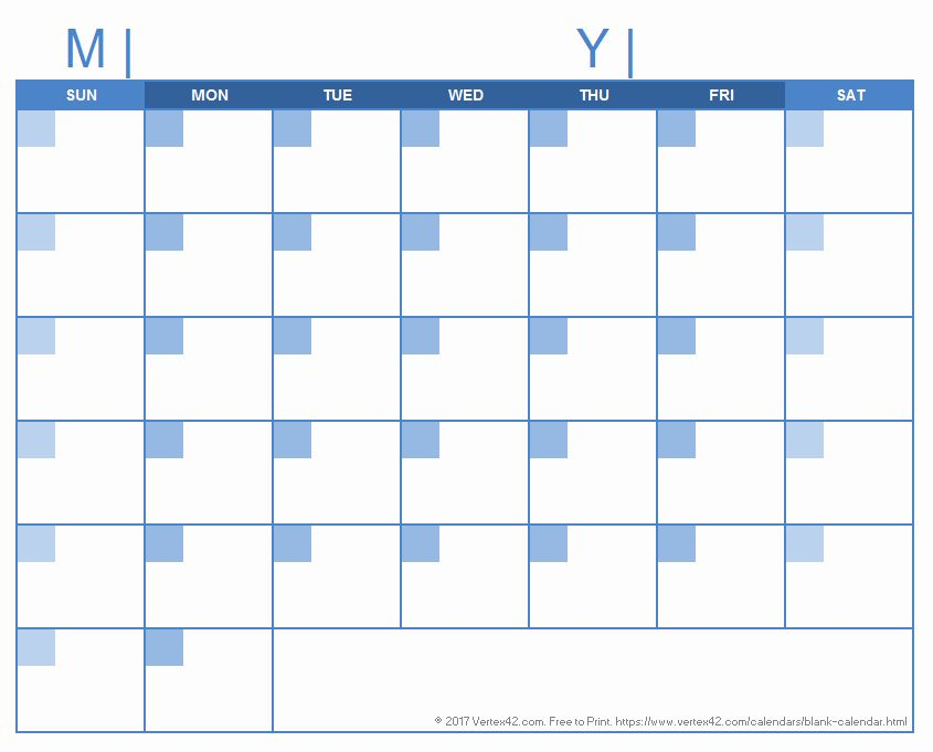 30 Day Calendar Template Word In 2020 (With Images with regard to 5 Day Calendar Template Word