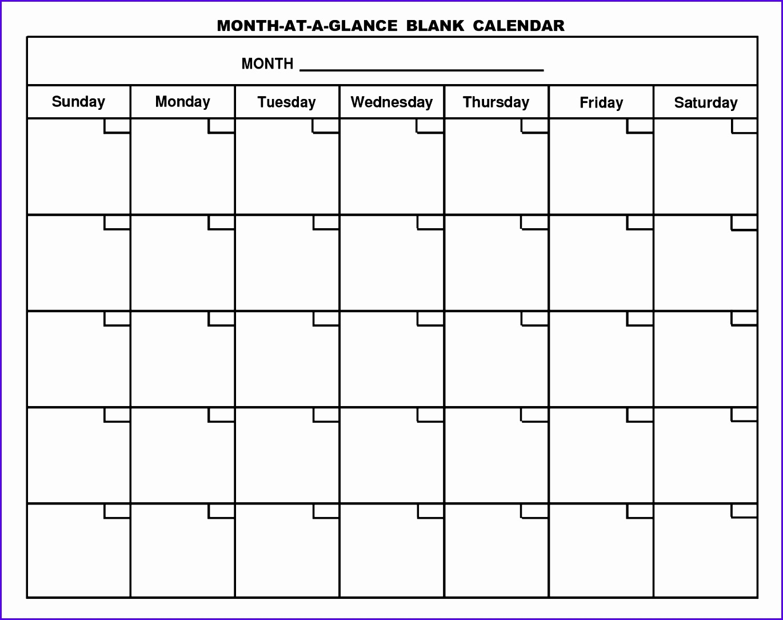 5 Blank Calendar Template Excel  Excel Templates  Excel regarding Excel Quarterly Calendar Template