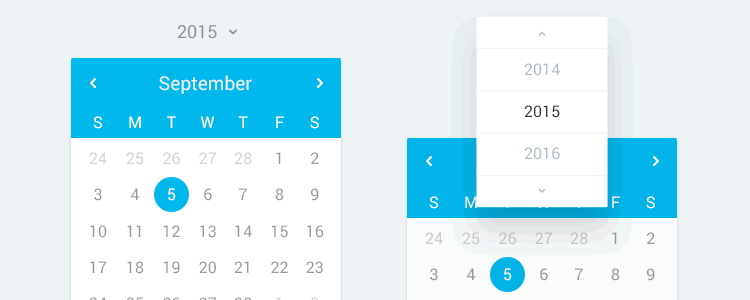 50 Free Resources For Web Designers From June 2015 inside Calendar Icon Material Ui