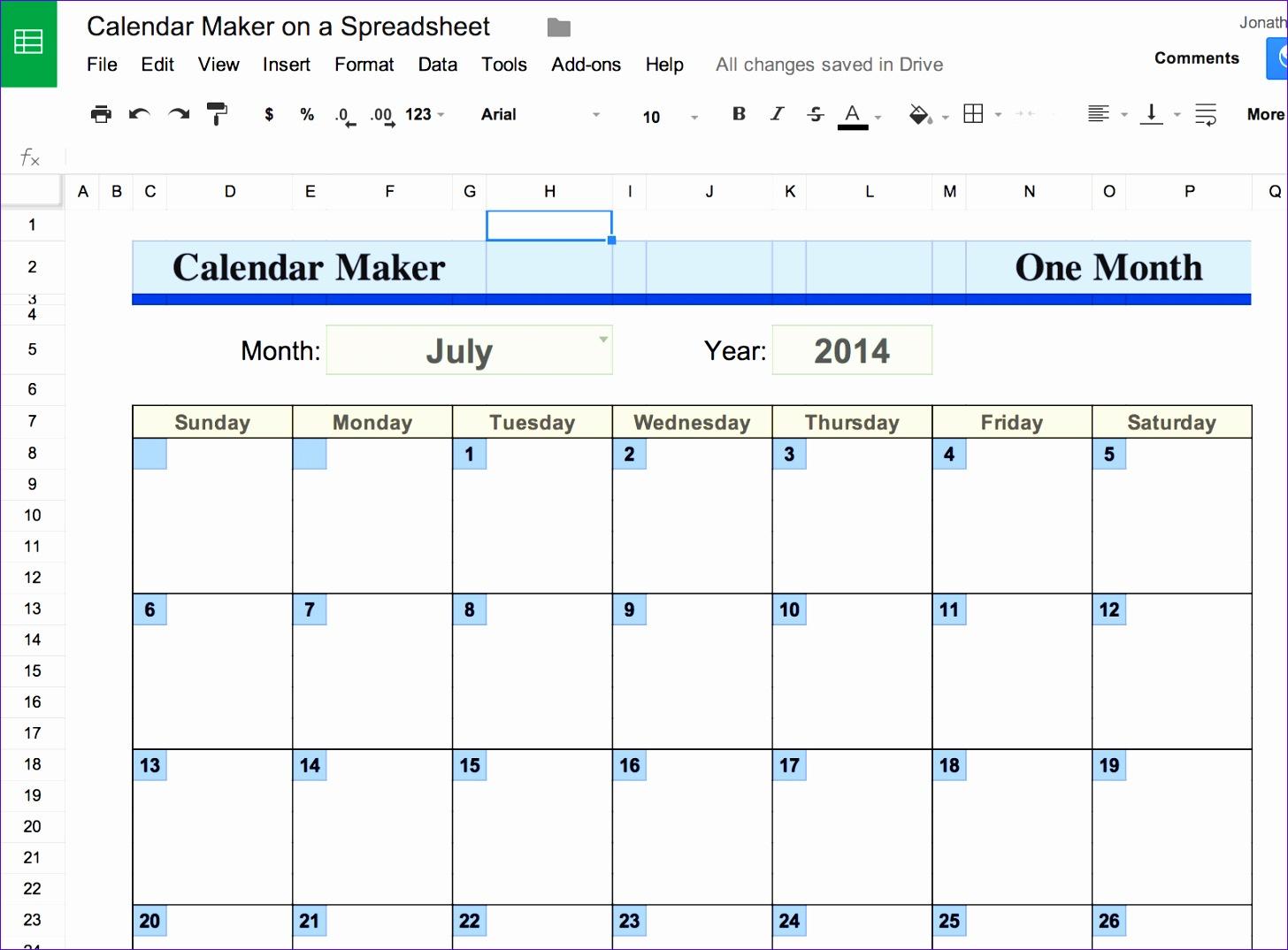 6 Google Calendar Excel Template  Excel Templates  Excel with regard to Google Excel Calendar Template
