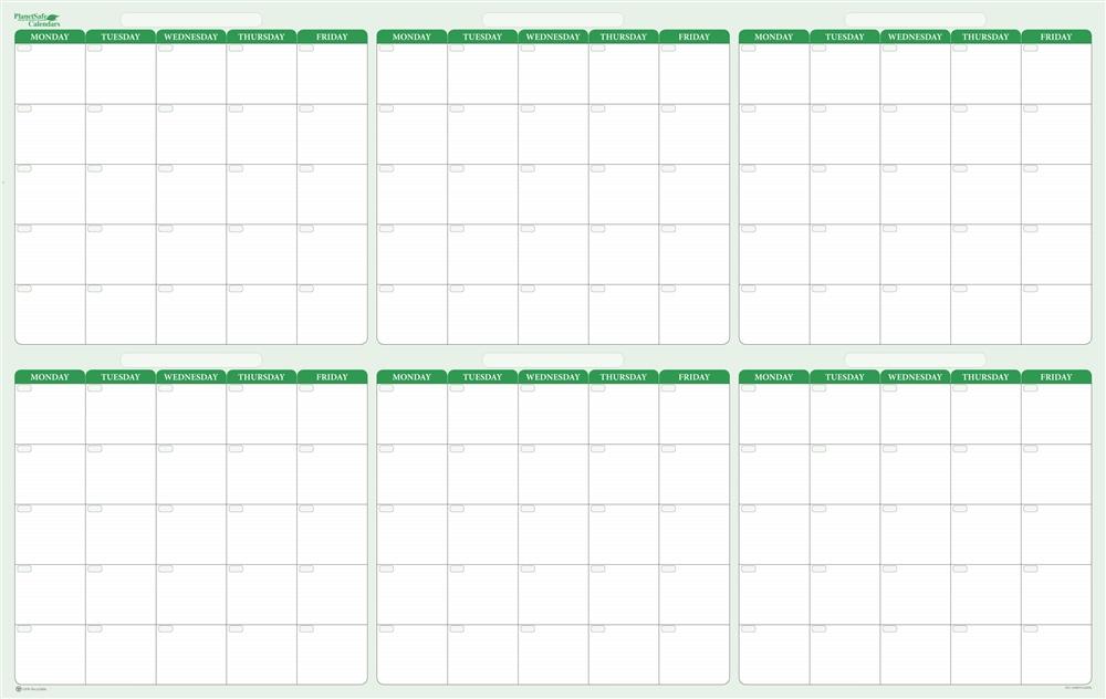 6 Monthly Calendar  Calendar Printable Week regarding 6 Month Printable Calendar