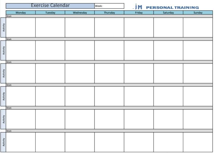 6 Week Calendar Template  Calendar Template 2020 inside 6 Month Printable Calendar