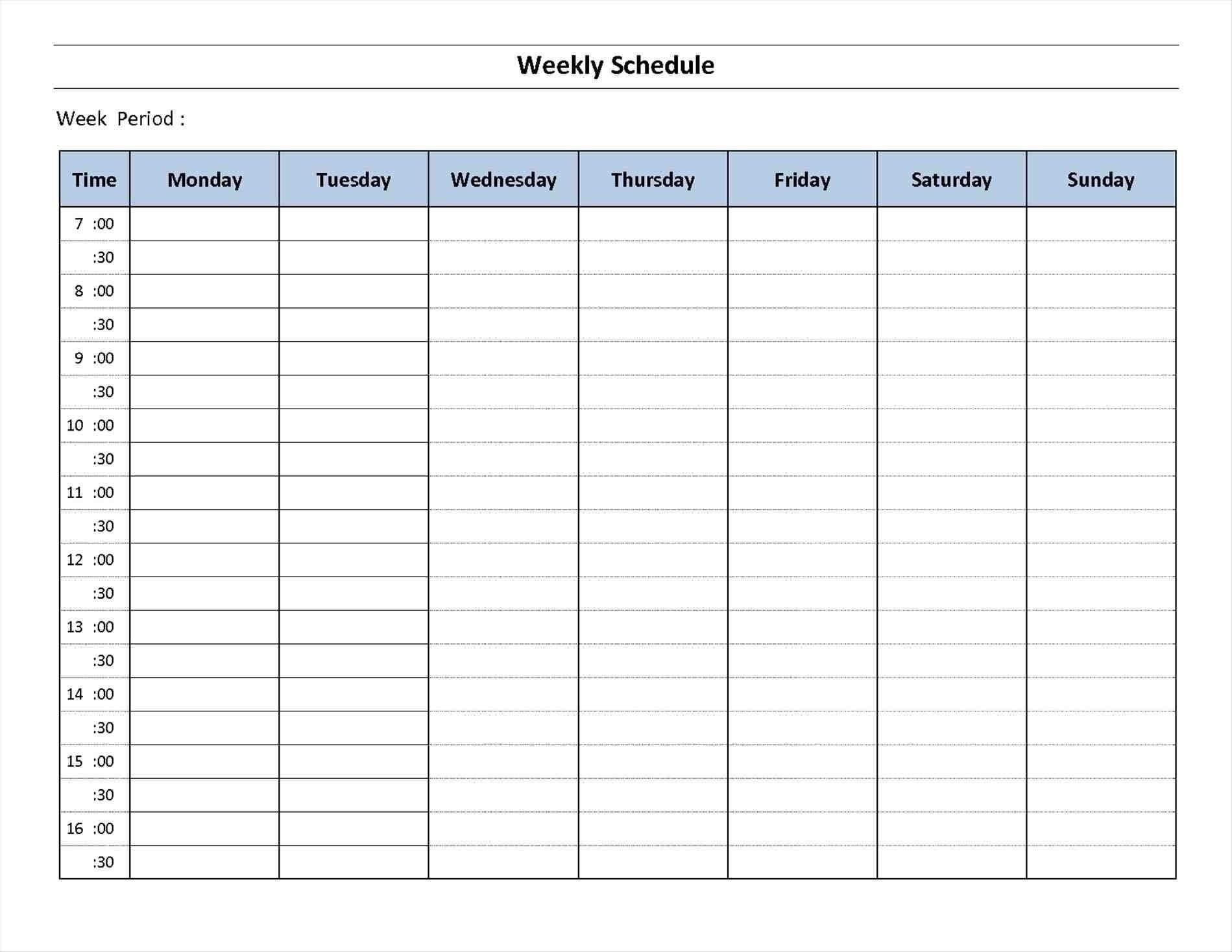 7 Day Calendar Print Out | Ten Free Printable Calendar regarding 7 Day Calendar Template