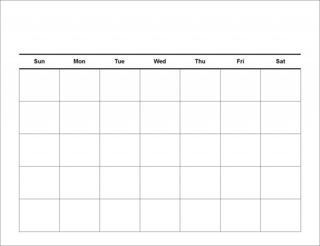 7 Day Printable Calander  Calendar Template 2020 throughout 7 Day Calendar Template