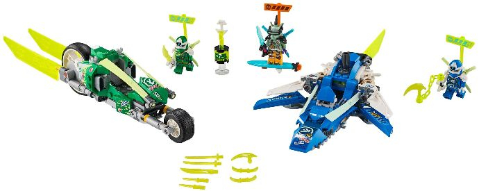717091: Jay And Lloyd'S Velocity Racers | Brickset: Lego in Jays Brick Blog