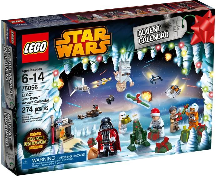 75056 Lego Star Wars Advent Calendar  Brickipedia, The within Lego Star Wars Advent Calendar 2013
